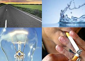 Agárrese con todo lo que sube en 2013: la luz, el tabaco, la telefonía, el transporte, el agua, las autopistas, ir al médico...