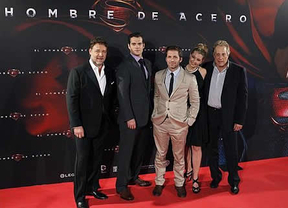 'Man of Steel': Henry Cavill, Russell Crowe y Zack Snyder brillaron en la noche madrileña