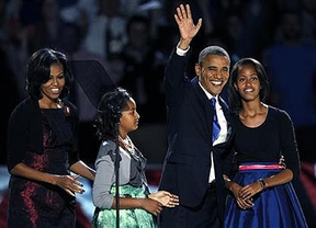 Discurso familiar y conciliador de Obama: 'Lo mejor está por llegar', dijo