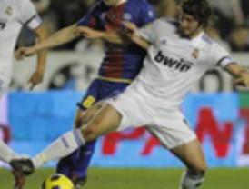 El Real Madrid pasa a cuartos pese a perder ante el Levante (2-0)
