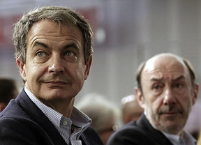 Zapatero anima a los socialistas a 'escuchar y apoyar los impulsos' de Rubalcaba