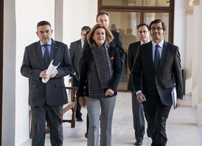 Cospedal pone a cero el contador de las deudas con los ayuntamientos de Castilla-La Mancha