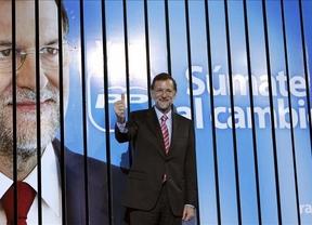 Rajoy apuesta en su campaña electoral por un cambio