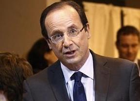 Hollande se alza con la victoria en la primera ronda de las presidenciales francesas, según los datos a pie de urna