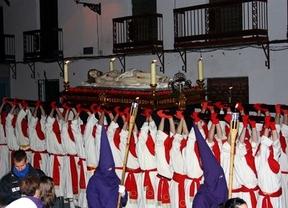 Yunquera de Henares apura los últimos ensayos para la procesión del Santo Entierro