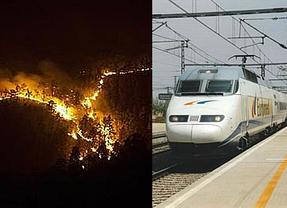 Insinúan que los graves incendios de este verano en Levante se corresponden a la especulación por el Corredor de tren Mediterráneo