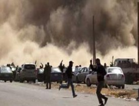 Un ataque aéreo aliado mata a un grupo de 13 rebeldes y algunos civiles