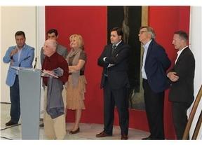 Antonio López inaugura la exposición 'Cinco paradas' de la que es comisario