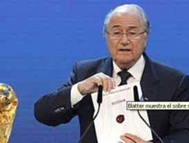 Rusia organizará el Mundial de fútbol de 2018