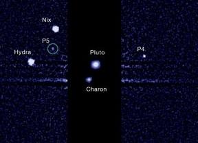 El telescopio Hubble descubre una quinta luna en Plutón