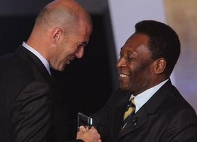 Pelé se mete en otro charco: 'El espectacular Zidane fue mejor que Messi'