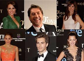 Javier Bardem, Paula Echevarría, Malena Costa y otros famosos, sin sus parejas en la gala de los Goya
