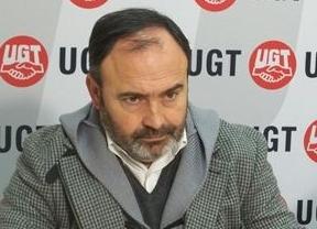 El líder de UGT-CLM, Carlos Pedrosa,
