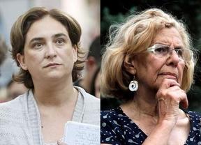 Twitter ya 'ha elegido' a dos alcaldesas: Ada Colau y Manuela Carmena