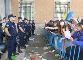 Interior prepara un enorme operativo policial para reprimir el cerco al Congreso el 25 de abril
