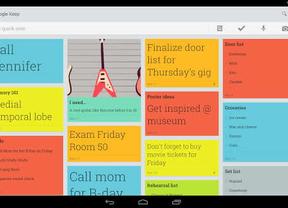 Google quiere plantar cara a Evernote con su nueva 'app' Keep