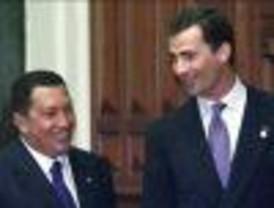 El Príncipe aseguró que no traerá ningún mensaje del Rey para Chávez