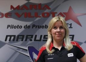 María de Villota continúa
