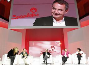 Zapatero reivindica su política social y pide seguir luchando por la igualdad