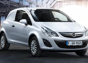 Opel venderá desde febrero en España el nuevo vehículo de reparto urbano Corsavan