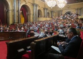 El Parlament aprueba una resolución de apoyo a la consulta del 9-N con un PSC dividido