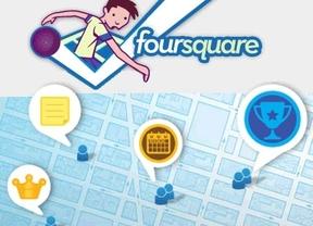 Foursquare se rediseña pero... en Facebook