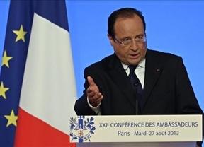 Hollande ofrece su ayuda a Obama ante el nuevo bombardeo a Irak