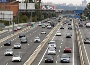 949.000 desplazamientos en el Puente de la Constitución