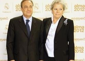 Fallece 'Pitina', la esposa del empresario y presidente del Real Madrid Florentino Pérez