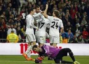 Jesé, más protagonista en el Bernabéu: golazo y lesión ante un Osasuna que plantó cara hasta el final (2-0)