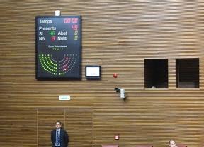 El PP aprueba la Ley de Señas de Identidad con la protesta de la oposición