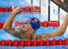 Melanie Costa sigue en forma tras los Mundiales: bate el récord español de los 200 libres