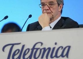 Telefónica gana un 9% menos pero alcanza su objetivo de deuda para todo el año