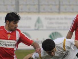 El Real Murcia pierde dos puntos sobre la bocina