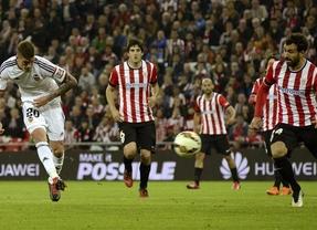 Athletic-Valencia: Adúriz se venga de su exequipo con un gol en el último suspiro y en fuera de juego (1-1)