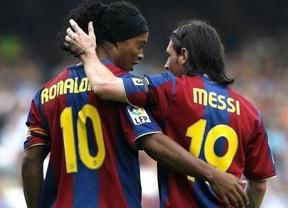 Ronaldinho tercia en la polémica: Cristiano tiene