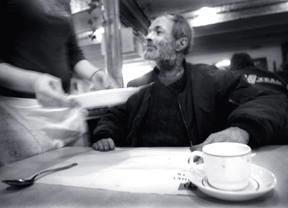 Menús especiales por Navidad en albergues y centros para personas sin hogar