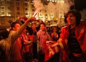 El Atlético de Madrid 'pasea' este sábado su Copa del Rey por la capital