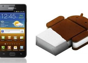 Samsung Galaxy S II se actualiza a IceCream Sandwich en Europa