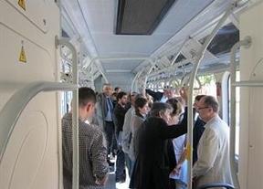 Prueba del autobús eléctrico fabricado por la empresa china BYD