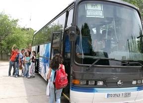 La Junta convoca ayudas al transporte escolar que oscilan entre los 318 y los 902 euros