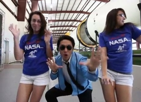 La NASA lleva al espacio... ¡el 'Gangnam Style'!