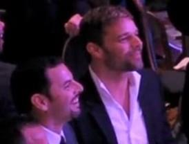 Ricky Martin presentó a su novio en los premios GLAAD