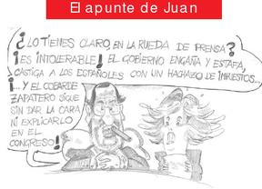 El prudente silencio de Zapatero y el humor de López Aguilar