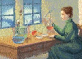 Un 'doodle' para Marie Curie en el aniversario de su nacimiento