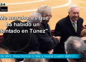 La vicepresidenta echa balones fuera sobre la presencia de Margallo en los toros cuando se conocía ya que hubo españoles en el atentado de Túnez