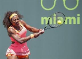 Carla Suárez no consigue 'frenar al vendaval' Serena Williams, que logra su octavo título en Miami