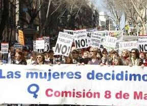 El 15-M apoya las marchas de este viernes del Día de la Mujer