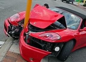 Los accidentes leves de tráfico crecieron en 2014 por primera vez en siete años, según las aseguradoras