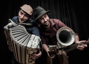 Diego Galaz y Jorge Arribas, decenas de instrumentos con el lenguaje del alma hecho armonía y que suena Fetén
